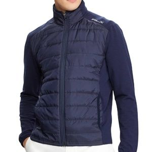 • Ralph Lauren • Cool Wool Quilted Full Zip Jacket